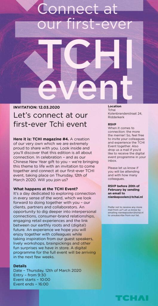 Tchi Event 2020 Tchai